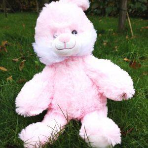 Den søde, bløde lyserøde kanin