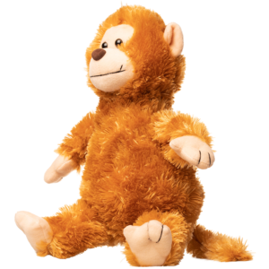 Billede af en abe bamse