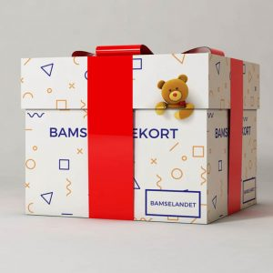 Køb et gavekort til bamselandet der giver adgang til køb af bamser, bamsetøj og bamse tilbehør