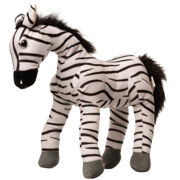 En zebra bamse