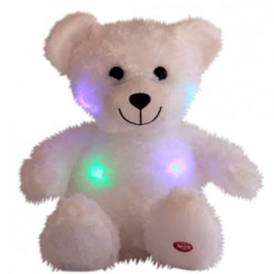 bamse med lys