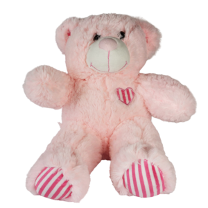 Lyserød hjerte bjørn